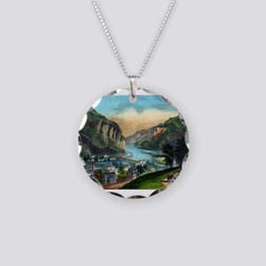 View of Harpers Ferry, Va. - 1907 Necklace Circle