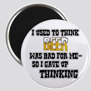 I Used to Think Beer Magnet