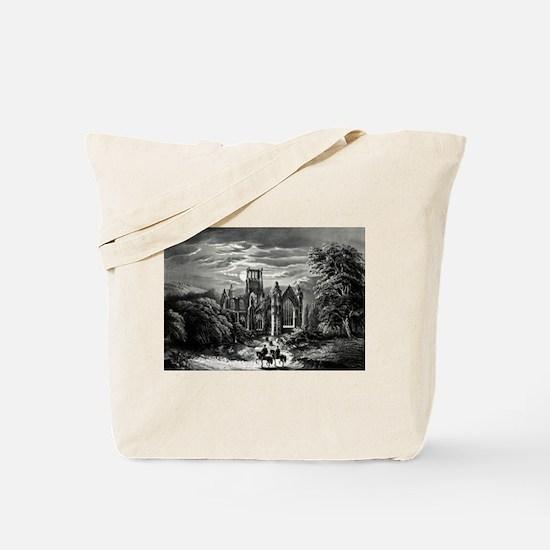 Melrose Abbey - 1862 Tote Bag