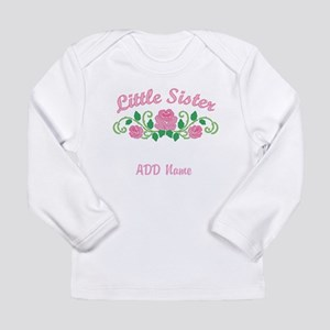 Personalized Sisters Long Sleeve Infant T-Shirt