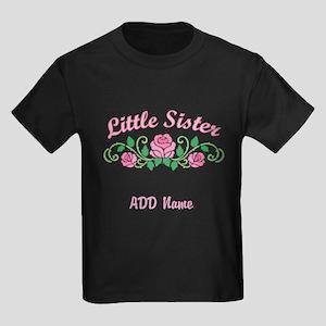 Personalized Sisters Kids Dark T-Shirt