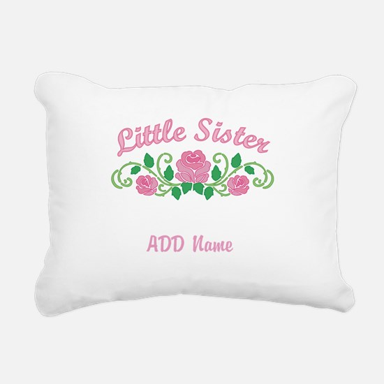 Personalized Sisters Rectangular Canvas Pillow