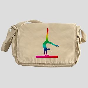 Flip Flop Rainbow Gymnast Messenger Bag