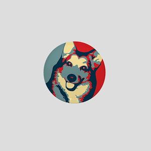ONE HAPPY DOG! Mini Button