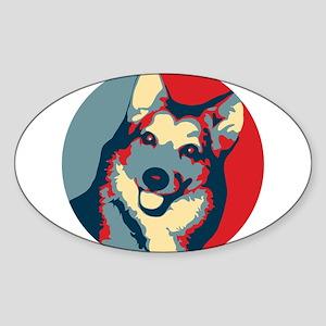 ONE HAPPY DOG! Sticker