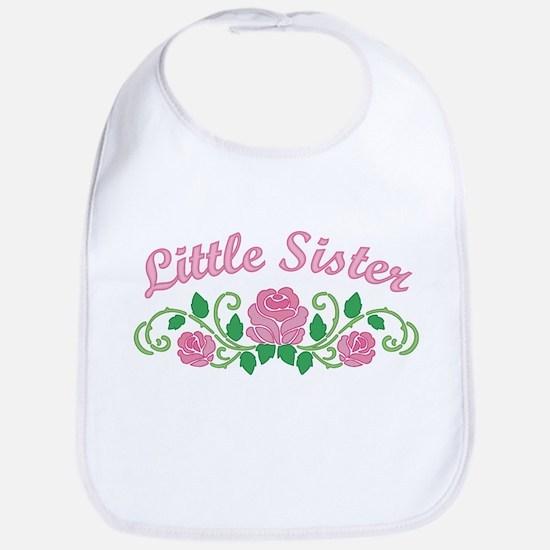 Little Sister Roses Bib