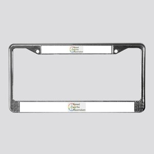 Blessed are the Peacemakers License Plate Frame