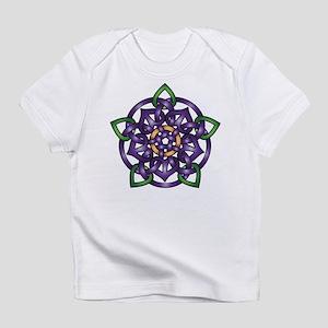 Purple Celtic Rose Infant T-Shirt