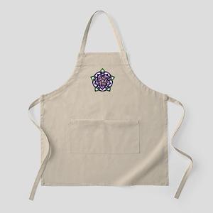 Purple Celtic Rose Apron