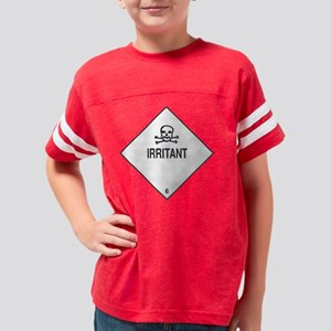 irritant_1 Youth Football Shirt
