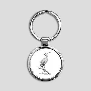 Great Blue Heron Keychains