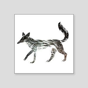 The Aging Silver Fox Sticker