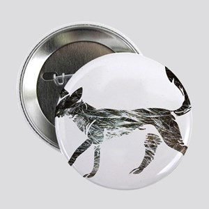 "The Aging Silver Fox 2.25"" Button"