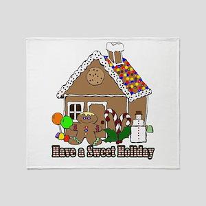 Sweet Holiday Throw Blanket