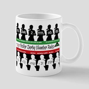 Roller Derby Number Rules Mug
