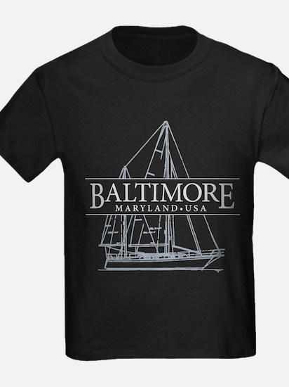 Baltimore Sailboat - T