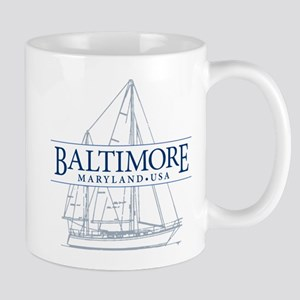 Baltimore Sailboat - Mug