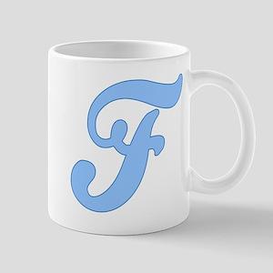 f_blue Mugs