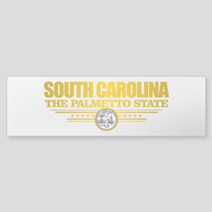 South Carolina Flag Bumper Sticker
