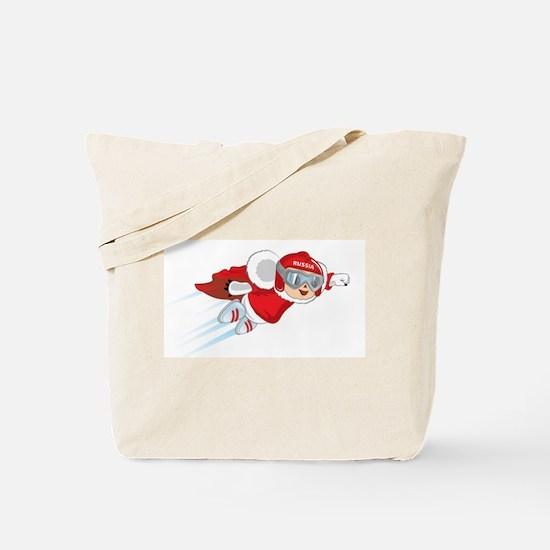 Flying Cheburashka Tote Bag
