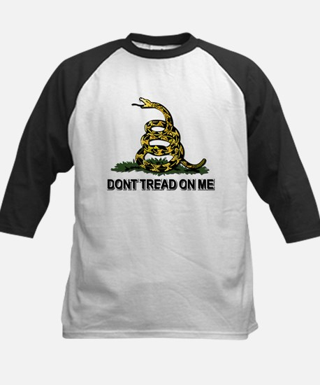 Dont Tread on Me Kids Baseball Jersey