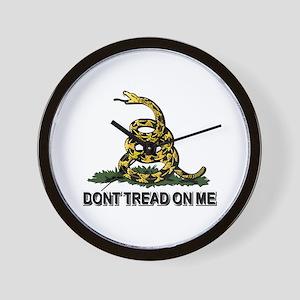 Dont Tread on Me Wall Clock