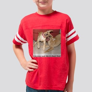 SharkWeek Youth Football Shirt