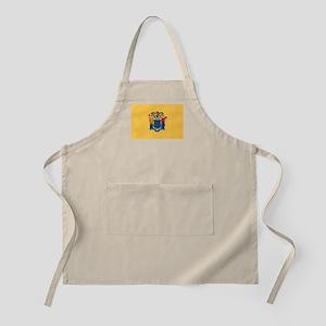 New Jersey Flag BBQ Apron