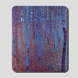 Beech Forest by Gustav Klimt Mousepad