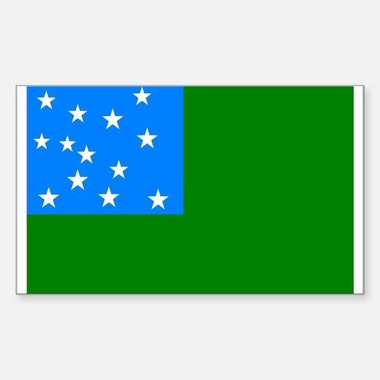 Green Mountain Boys Flag Decal
