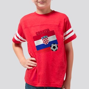 croatia soccer &ball Youth Football Shirt