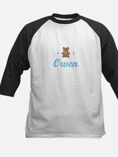 Teddy Bear - Owen Kids Baseball Jersey