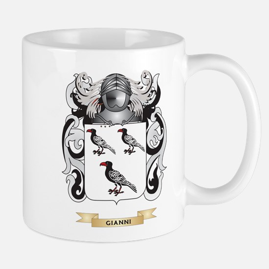 Gianni Coat of Arms (Family Crest) Mug