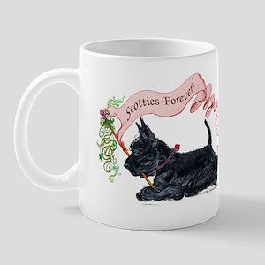 Scotties Forever Banner Mug