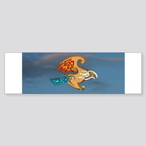 Hawk Bumper Sticker