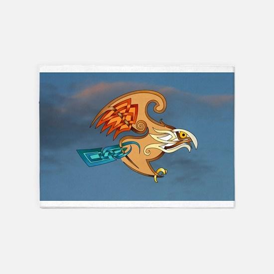 Hawk 5'x7'Area Rug