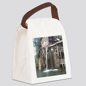 Dollywood Grist Mill Canvas Lunch Bag