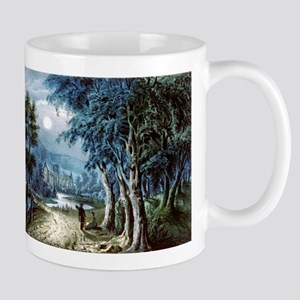 Moonlight - the ruins - 1907 11 oz Ceramic Mug