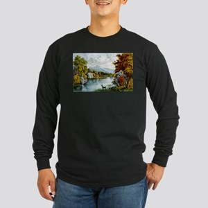 Moosehead Lake - 1880 Long Sleeve Dark T-Shirt