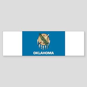 Oklahoma Flag Bumper Sticker