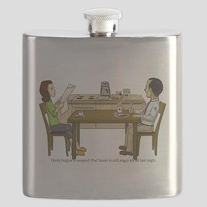 Breakfast Suspicions Flask