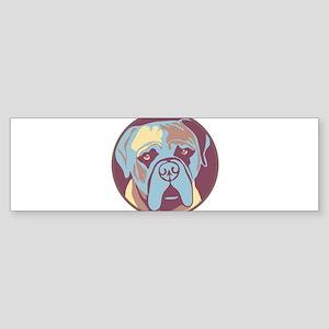 MY BEAUTIFUL MASTIFF Bumper Sticker