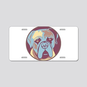 MY BEAUTIFUL MASTIFF Aluminum License Plate