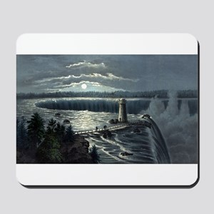 Niagara Falls - from Goat Island - 1973 Mousepad