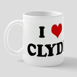I Love CLYDE Mug