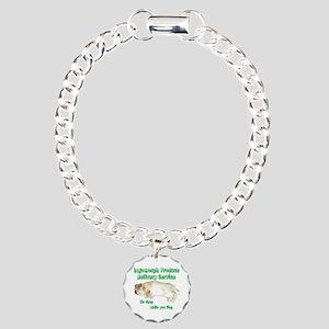 Lagomorph Produce Delive Charm Bracelet, One Charm