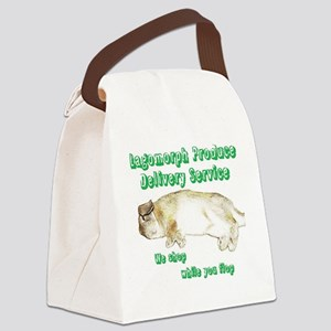 Lagomorph Produce Delivery Servic Canvas Lunch Bag