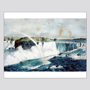 Niagara Falls from the Canada side - 1856 Small Po