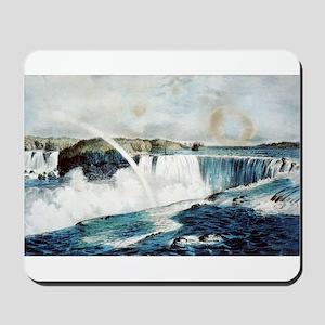 Niagara Falls from the Canada side - 1856 Mousepad