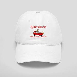 Firefighter Saves Lives-Mom Cap